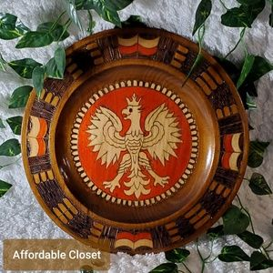 Other - •Wooden Plate/Catchall•